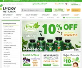 Lucky Vitamin Cashback
