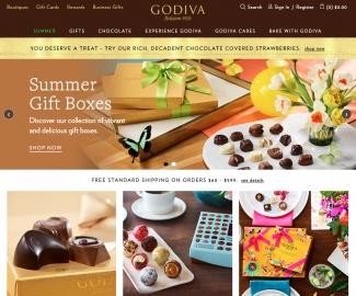 Godiva Black Friday jetzt starten:  20% Rabatt auf ausgewählte Produkte