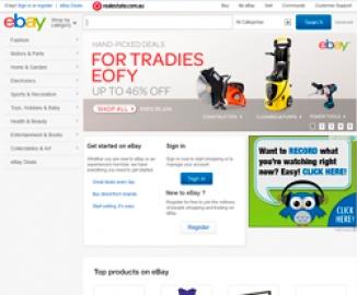 eBay AU Кэшбэк