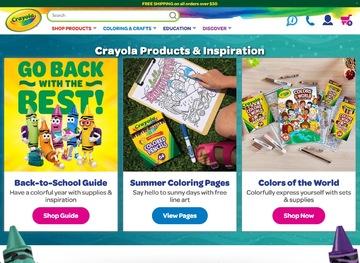 Crayola | 绘儿乐 返利