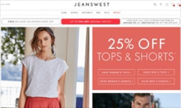 Jeanswest Cashback