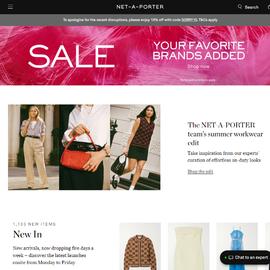 NET-A-PORTER UK | 頗特女士 現金回饋