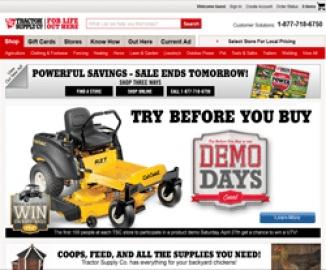 Tractor Supply Company Cashback
