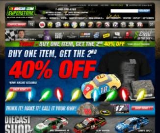 NASCAR Shop 返利