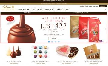 Lindt | 瑞士莲巧克力 返利