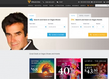Vegas.com Cashback
