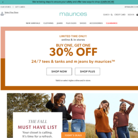 Maurices Cashback