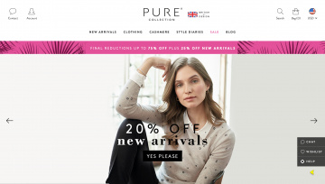 Pure Collection 現金回饋