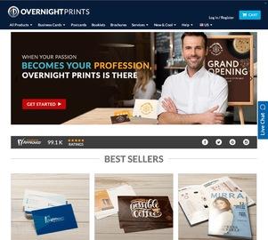 Overnight Prints Cashback