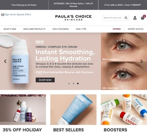 Paula's Choice Skincare Cashback
