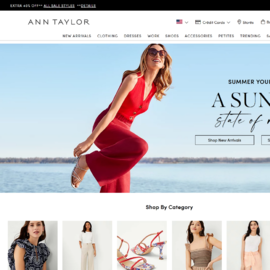 Flash Sale - 70% Off Select Full-price Styles @ Ann Taylor
