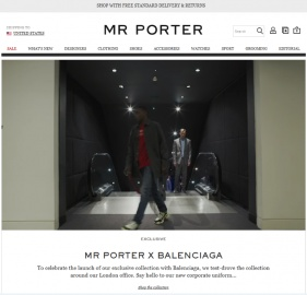 MR PORTER UK Cashback