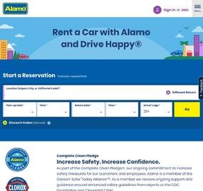 Alamo Rent A Car Cashback