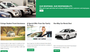 Enterprise Rent a Car Cashback