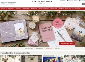 Personalization Mall Cashback
