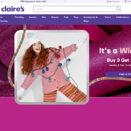 Claire's Cashback
