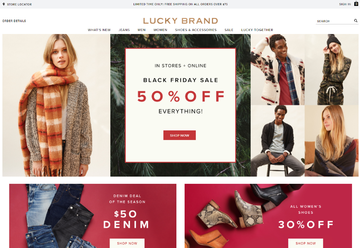 Lucky Brand | 幸运品牌 返利