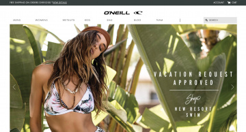 O'Neill 現金回饋