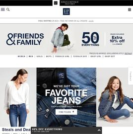 Gap Factory Cashback