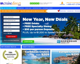 CruiseDirect 返利