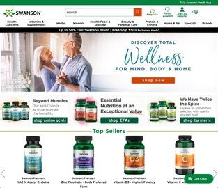 Swanson Health Cashback
