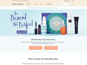 Birchbox UK キャッシュバック