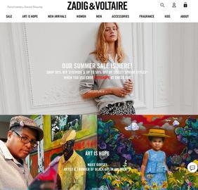 Zadig & Voltaire | 萨迪格&伏尔泰 返利