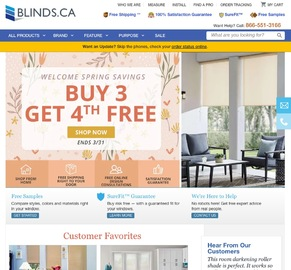 Blinds.CA Cashback