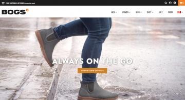 Bogs Footwear Canada Cashback