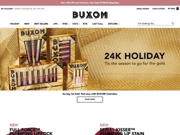 Buxom Cosmetics Cashback