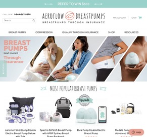 Aeroflow Breastpumps Cashback