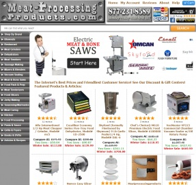 Meat Processing Products Cashback