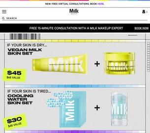 Milk Makeup Cashback