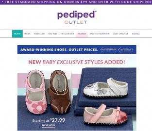 Pediped Outlet 返利