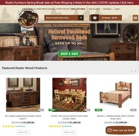 Log Furniture Place 返利