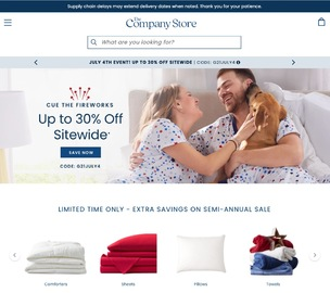 The Company Store Cashback