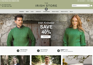 The Irish Store 現金回饋