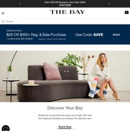 The Bay 現金回饋