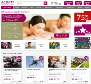 Activity Superstore Cashback