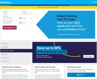 Airparks Cashback