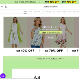 Just Fashion Now Cashback