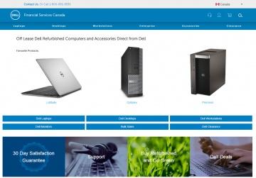 Dell Financial Services Canada Cashback