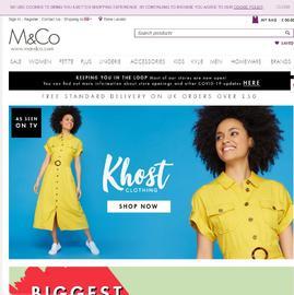 M&Co Кэшбэк