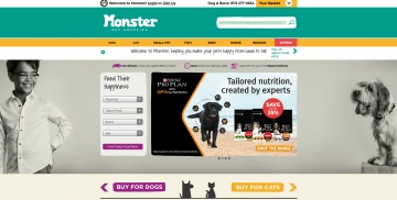 Monster Pet Supplies Кэшбэк