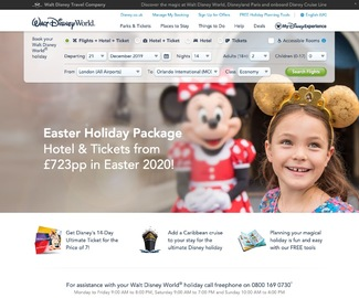 Walt Disney World | 沃爾特•迪斯尼世界 現金回饋