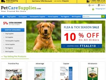 Pet Care Supplies Cashback