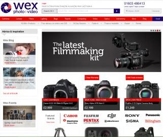 Wex Photo Video Cashback