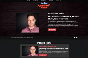 New York Comedy Club 返利