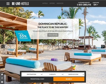 Be Live Hotels Cashback