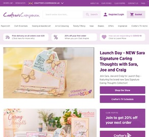 Crafters Companion Cashback